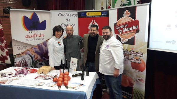 """El """"superalimento"""" Ajo Morado de Las Pedroñeras deja la marca de sabor en GastroOleum"""